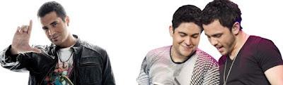 Latino and Jorge e Mateus Brazil Day 2012